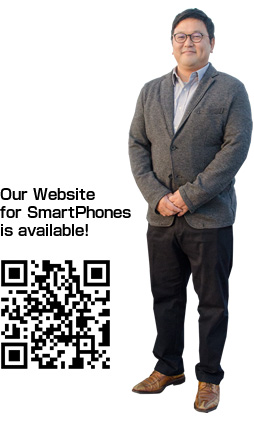 Our website for smartphones is available